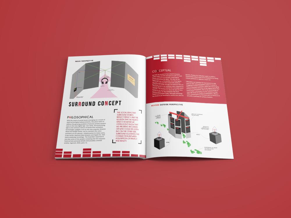 Pryvacy spread design